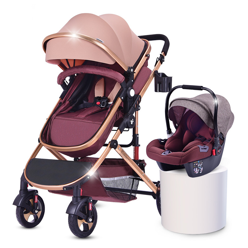 germany detachable double baby stroller/newborn strollers and car seat bikestroller/strollercarseat