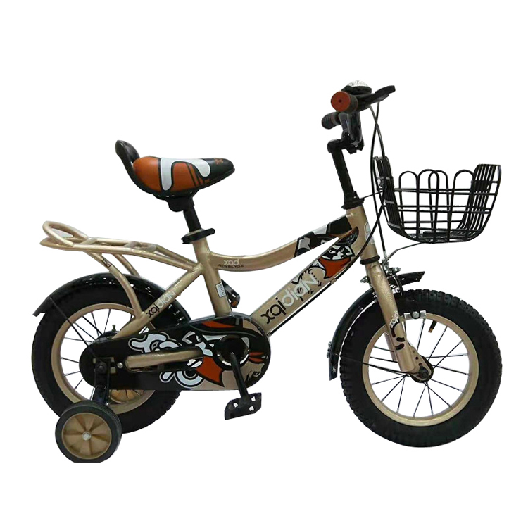 New design hot sale cool kids bikes/simple design lightweight boys bike 14/metal 4 wheels kids bike sale Yimei Brand