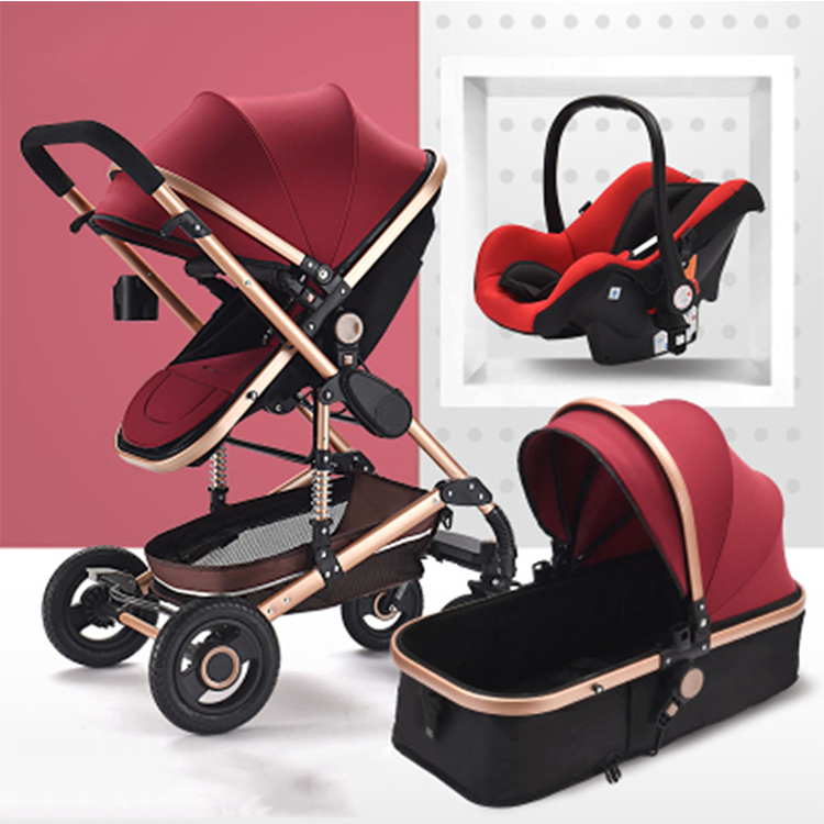baby toddler stroller buggy manufacturer/3 in 1 newborn pushchair luxury stroller set/twin baby tricycle stroller for sale