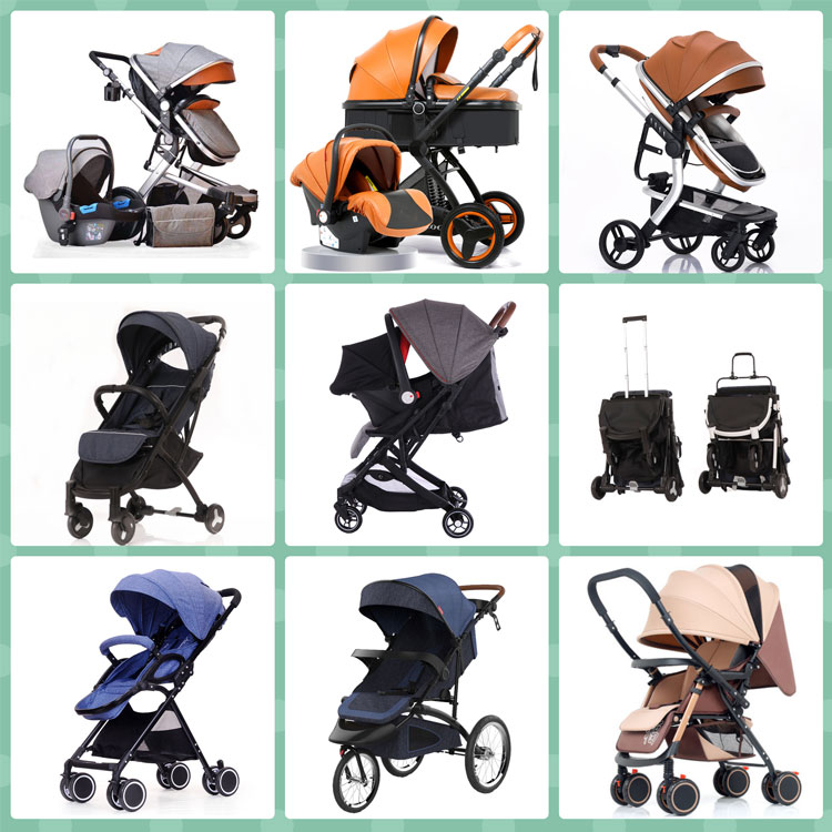 Wholesale travel system baby stroller/hot sale lightweight folding baby carriage/cheap china factory foldable pram for baby
