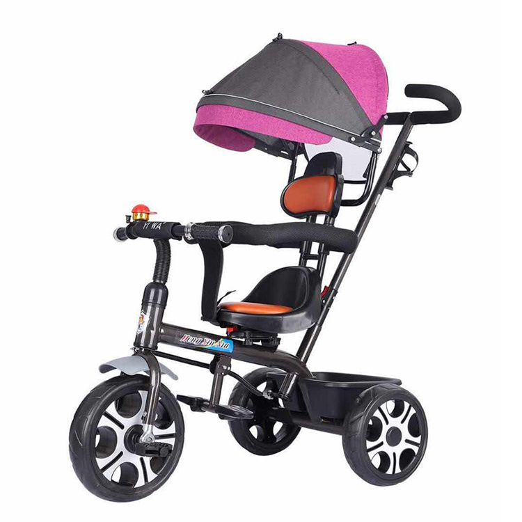 Factory Supply tricycle baby 1 year old child/hot selling children tricycle malaysia/cheap baby tricycle price with handle bar