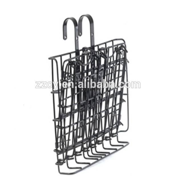 Metal Wire Mesh Bike Basket wholesale folded bike basket carriage