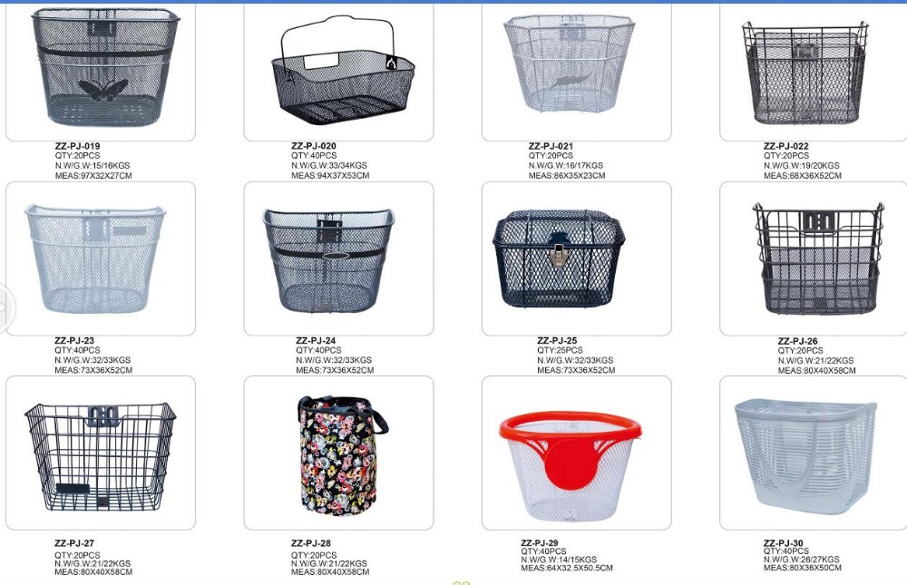 stainless steel women bicycle with basket ,bicycle basket from direct factory